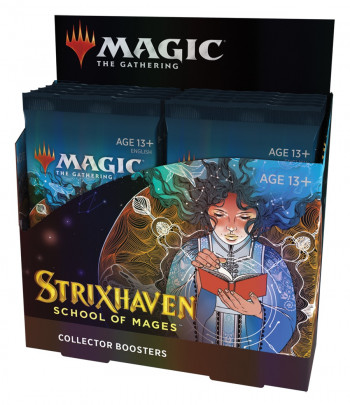 Strixhaven: School of Mages Collector Dysplay Booster фото цена описание