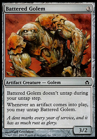 Battered Golem фото цена описание