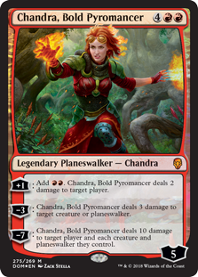 Chandra, Bold Pyromancer фото цена описание