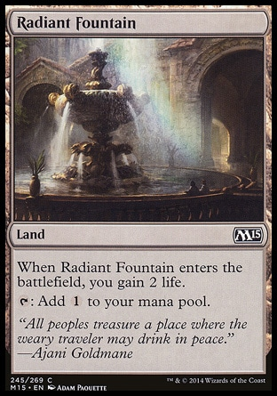 Radiant Fountain фото цена описание