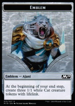 Ajani, Adversary of Tyrants Emblem фото цена описание