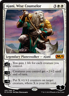 Ajani, Wise Counselor фото цена описание
