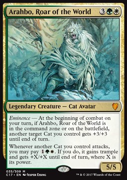 Arahbo, Roar of the World (Commander 2017) фото цена описание