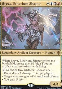 Breya, Etherium Shaper (Commander 2016) фото цена описание