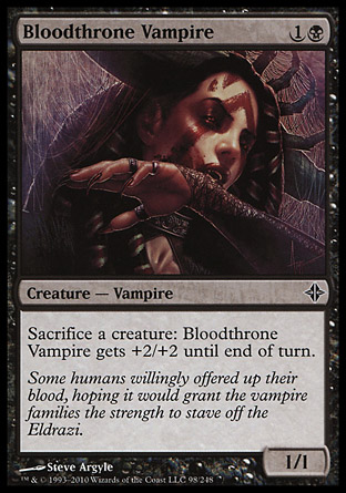 Bloodthrone Vampire фото цена описание