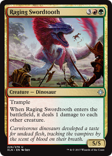Raging Swordtooth фото цена описание